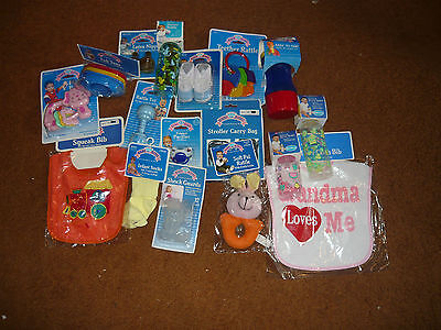 Lot Of 20 Baby King Acessories Bottles, Bibs, Toys,pacifiers & More