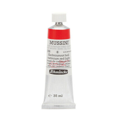 (106,91€/100ml) Schmincke 35ml MUSSINI Kadmiumrot hell Oel  10 356 009