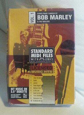 Tune 1000 Standard Midi Files 3.5 Floppy Disk - Songs Made Famous By Bob Marley