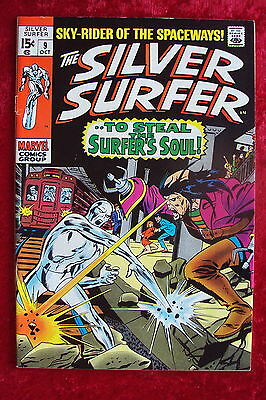 Silver Surfer #9 Nice Issue Marvel Comics Cgc It!