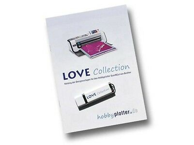 (99,00€/1Stk) Designs Love-Collection für Brother ScanNCut