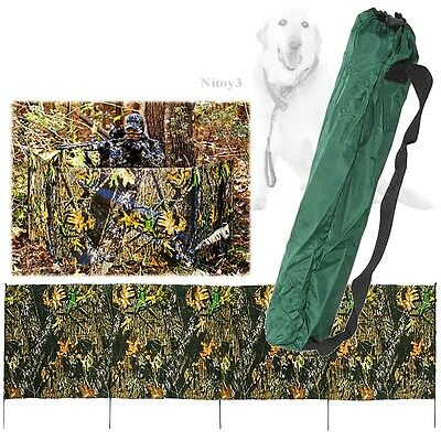 """Primos Stake Out Camo Hunting Blind Water and Mildew Resistant 27"""" x 144"""""""