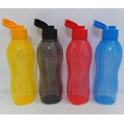 Tupperware H20 On The Go Eco Water Drink Bottle 1L with Flip Top + Free Shipping