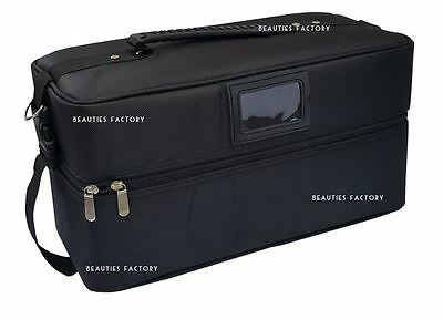 BF Large Beauty Box Cosmetic Make Up Vanity Jewellery Saloon Nail Case NEW #1019