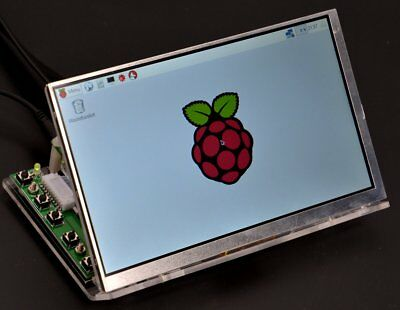 Makerfire 7 inch Raspberry Pi RPI Acrylic Case for LCD Display Screen TFT
