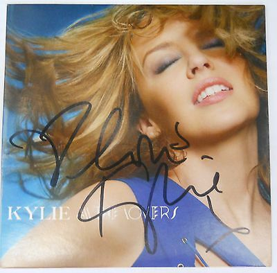 Signed Kylie All The Lovers  Cd Single