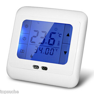 Digital Programmable LCD Touch Screen Heating Room Temperature Thermostat Stat