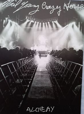Neil Young and Crazy Horse Tour Programme / Book – Alchemy 2012 - 2013
