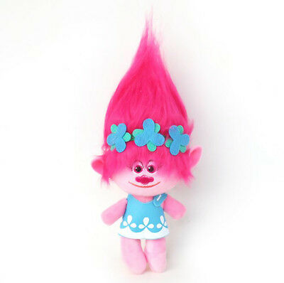 New Trolls Plush Toys Poppy Branch Dream Works Stuffed Cartoon Dolls Kids 23cm