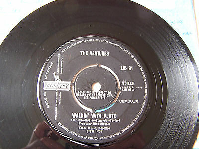 The Ventures - Walkin With Pluto / Journey To The Stars