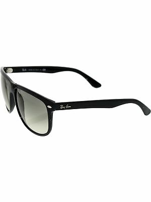 Ray-Ban Men's Gradient RB4147 RB4147-601/32-60 Black Square Sunglasses