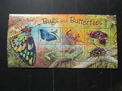 2--  2003 Bugs & Butterflies-Mini  Sheet-- Used  Ist Day  Cancellation --A1