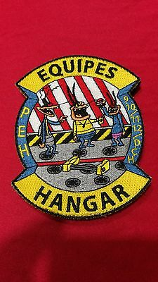 Patch   EQUIPES   HANGAR