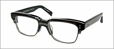 Authentic DITA Grand Reserve Eye Glasses. Black with Antique Silver. Unisex.