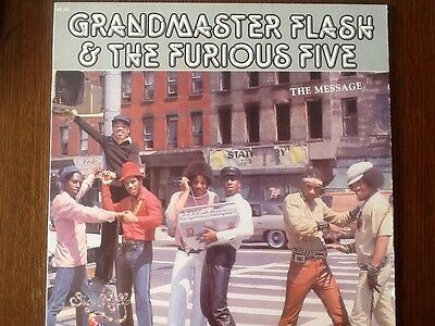 Grandmaster Flash And The Furious Five Vinyl