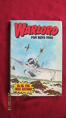 Warlord Annual Book For Boys 1980