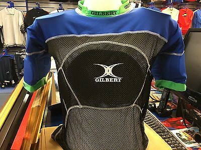 GILBERT CHARGER RUGBY SHOULDER & BODY PADS 2 X-Large