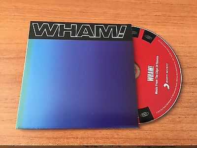Wham rare album Music From the Edge of Heaven in cardsleeve ( George Michael )