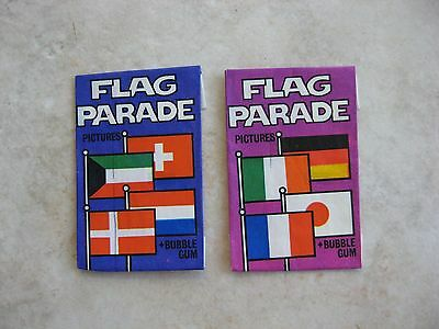 1970's Dandy Flag Parade Bubble Gum Wrappers only