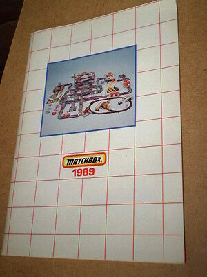 Matchbox Toy Catalogue 1989 German Edition Excellent Condition