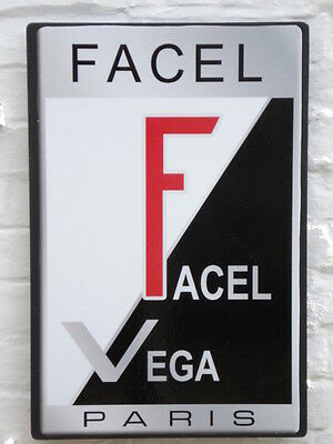Facel Vega 2ft garage wall sign