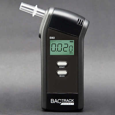 Brand New BACtrack S80 Professional Breathalyzer Portable Breath Alcohol Tester