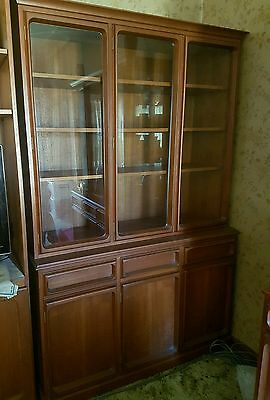 Parker display cabinet and buffet