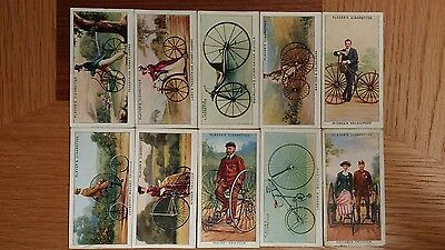full set of players cycling cigarette cards