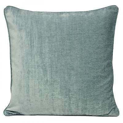 Riva paoletti Wellesley duckegg velvet chenille cushion cover, 45cm