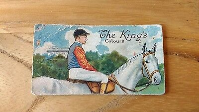 1 card from ansties racing scenes # 1 cigarette cards