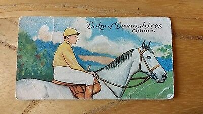 1 card from ansties racing scenes # 12 cigarette cards