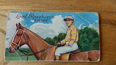 1 card from ansties racing scenes # 14 cigarette cards