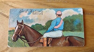 1 card from ansties racing scenes # 23 cigarette cards