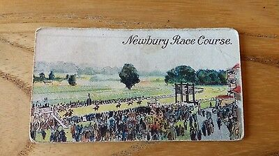 1 card from ansties racing scenes # 38 cigarette cards