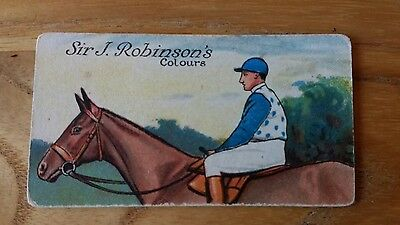 1 card from ansties racing scenes # 21 cigarette cards