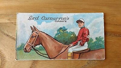 1 card from ansties racing scenes #20 cigarette cards