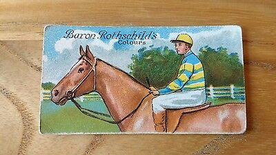 1 card from ansties racing scenes #19 cigarette cards