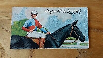 1 card from ansties racing scenes #13 cigarette cards