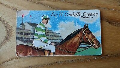 1 card from ansties racing scenes #9 cigarette cards
