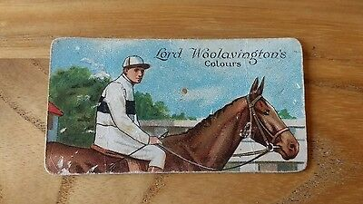 1 card from ansties racing scenes # 5 cigarette cards