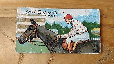 1 card from ansties racing scenes# 3 cigarette cards