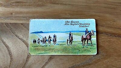 1 card from anstie racing scenes #48 cigarette cards