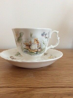 Royal Albert The World Of Beatrix Potter Cup And Saucer Jeremy Fisher