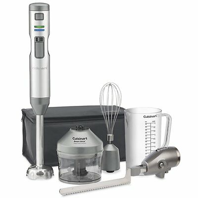 New CUISINART Smart Stick Variable Speed Cordless Hand Blender + Electric Knife