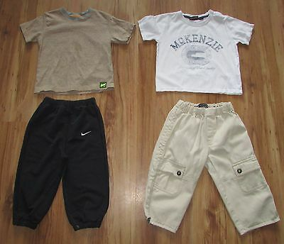 Baby Boy's Bundle 18-24 Months Mackenzie Burberry Nike M&s Trousers Joggers T-Sh