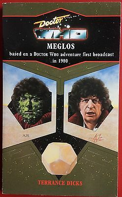 Doctor Who MEGLOS by Terrance Dicks Virgin BLUE SPINE Paperback