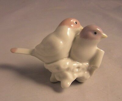 """1991 Lladro Love Birds """"First Christmas Together"""" Ornament #5840 Mint"""