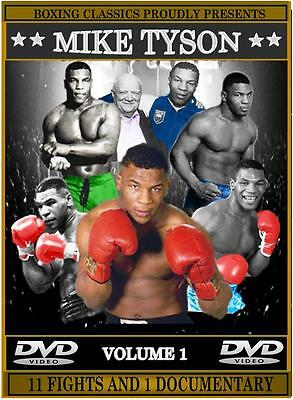 Mike Tyson Boxing DVD Career Collection (Vol.1)