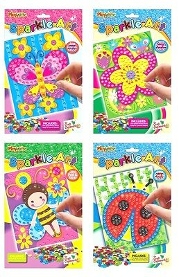 24 Make Your Own Sparkle Art -4 Assorted designs