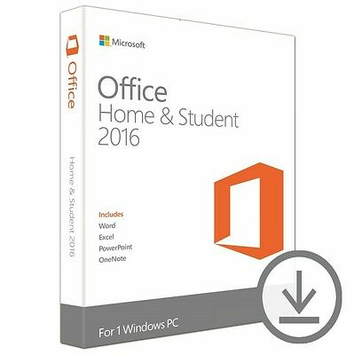 Office 2016 Home and Student Produkt Key Vollversion